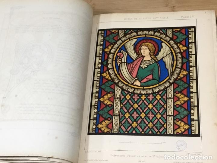 Libros antiguos: HISTORIA DE LA PINTURA SOBRE CRISTAL. ESPECIALMENTE EN BÉLGICA. EDMOND LÉVY. BRUXELLES. - Foto 16 - 176142124