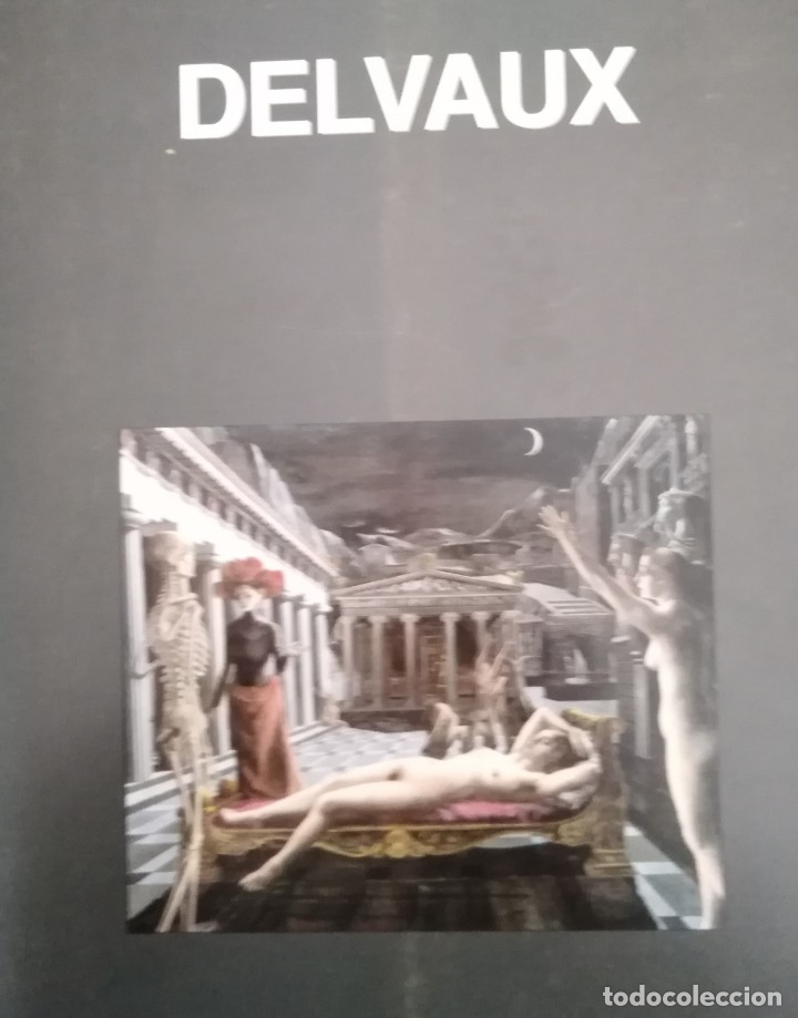 Libros antiguos: Delvaux - Catálogo exposición 1998 - Foto 2 - 176274269