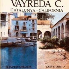 Libros antiguos: VAYREDA CANADELL - LIBRO CON DIBUJO -. Lote 178596545