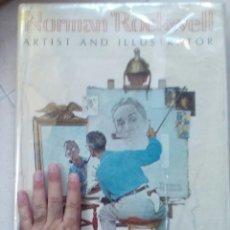 Libros antiguos: NORMAN ROCKWELL, ARTIST AND ILLUSTRATOR, THOMAS S. BUECHNER,MAGNIFICO LIBRO ILUSTRADO. Lote 178795406