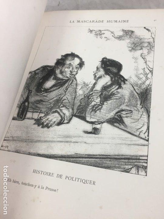 Libros antiguos: LA MASCARADE HUMAINE Histoire de politiquer Les propos de Thomas Vireloque Les bohèmes 1881 Frances - Foto 5 - 178815296