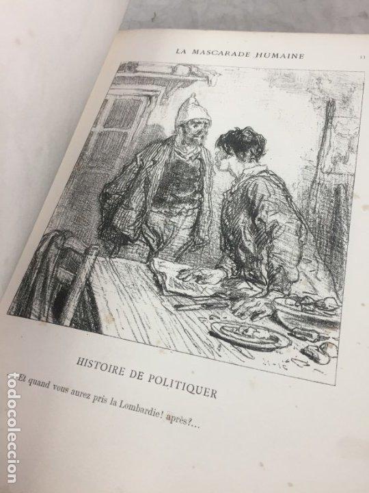 Libros antiguos: LA MASCARADE HUMAINE Histoire de politiquer Les propos de Thomas Vireloque Les bohèmes 1881 Frances - Foto 7 - 178815296