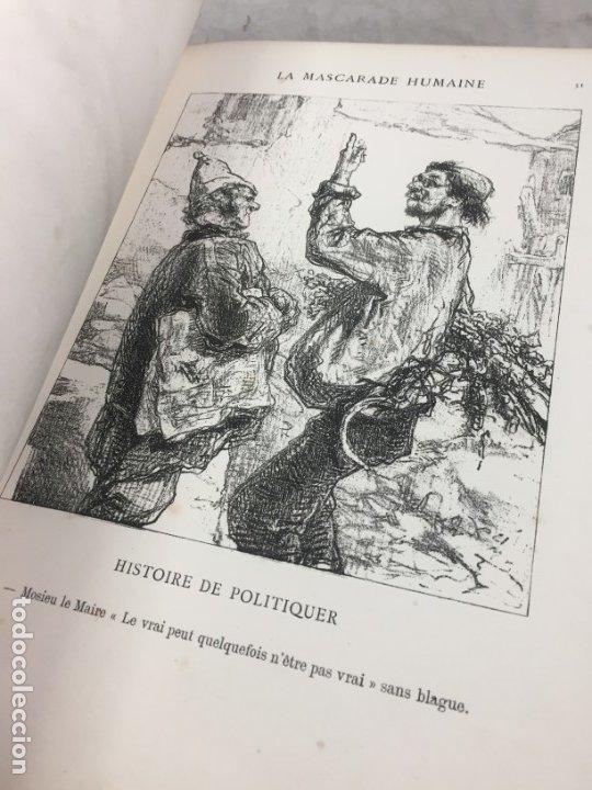 Libros antiguos: LA MASCARADE HUMAINE Histoire de politiquer Les propos de Thomas Vireloque Les bohèmes 1881 Frances - Foto 8 - 178815296