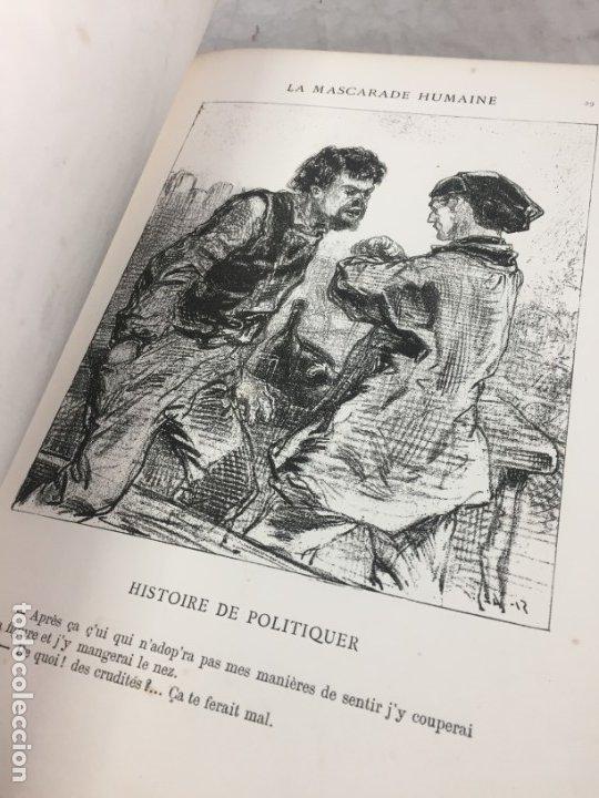 Libros antiguos: LA MASCARADE HUMAINE Histoire de politiquer Les propos de Thomas Vireloque Les bohèmes 1881 Frances - Foto 9 - 178815296