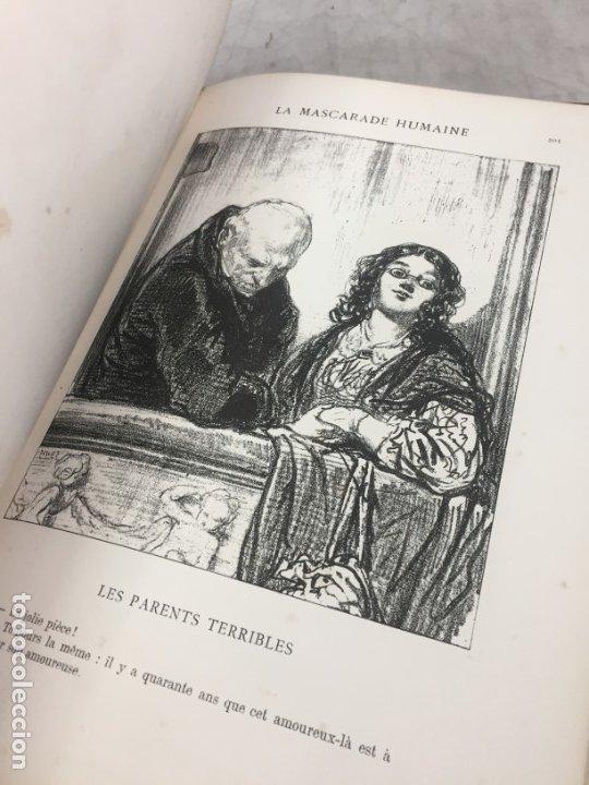 Libros antiguos: LA MASCARADE HUMAINE Histoire de politiquer Les propos de Thomas Vireloque Les bohèmes 1881 Frances - Foto 11 - 178815296