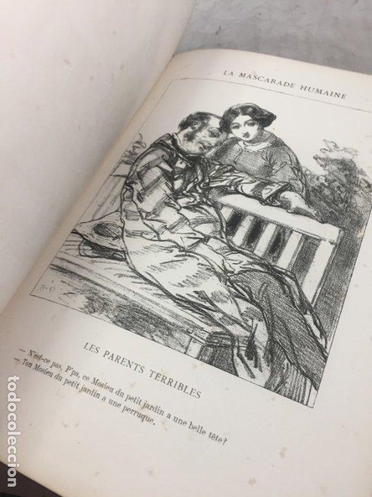 Libros antiguos: LA MASCARADE HUMAINE Histoire de politiquer Les propos de Thomas Vireloque Les bohèmes 1881 Frances - Foto 12 - 178815296