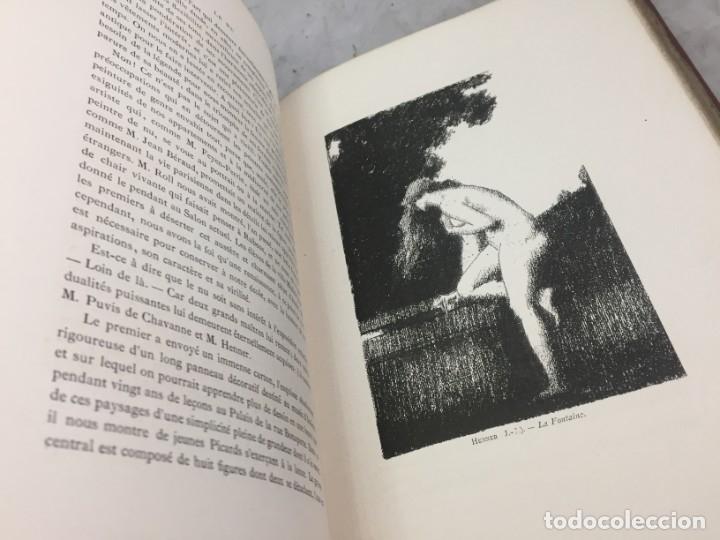 Libros antiguos: LÉxpositions des Beaux-Arts (Salon de 1880). Ed. Ludovic Baschet. Paris, 1880 Fotograbados Francés - Foto 5 - 178816967