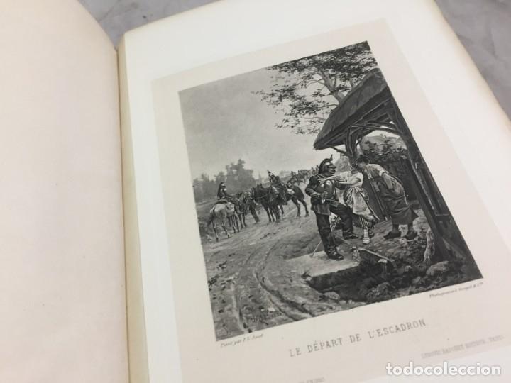 Libros antiguos: LÉxpositions des Beaux-Arts (Salon de 1880). Ed. Ludovic Baschet. Paris, 1880 Fotograbados Francés - Foto 7 - 178816967