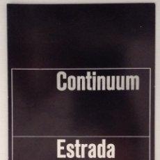 Libros antiguos: CONTINUUM ESTRADA JANZ CUADERNOS DE ARTE SERIE DIVULGACIÓN. Lote 178910175