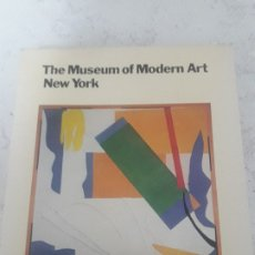Libros antiguos: THE MUSEUM OF MODERN ART NEW YORK. Lote 180960203