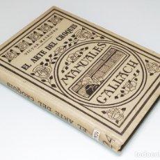 Libros antiguos: EL ARTE DEL CROQUIS / POR VÍCTOR MASRIERA. MADRID : CALPE, 1924. (MANUALES CALLACH ; CXXIV).. Lote 181092257