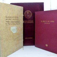 Libros antiguos: FACSÍMIL. BEATO DE LIÉBANA. CÓDICE DE BURGO DE OSMA. NUEVO. Lote 181833933
