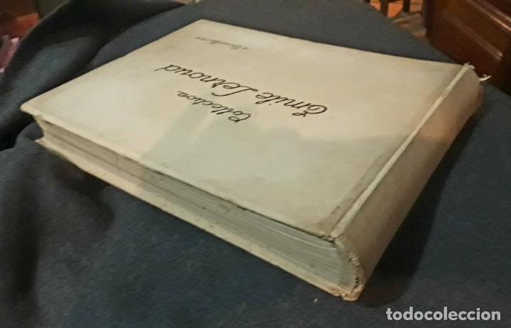 Libros antiguos: Collection Emile Lernoud 1924 gran álbum fotos originales Diaz del Peña Fader Corot Bonnat Steinlen - Foto 2 - 182041670