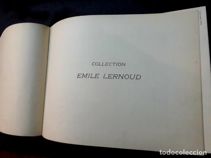 Libros antiguos: Collection Emile Lernoud 1924 gran álbum fotos originales Diaz del Peña Fader Corot Bonnat Steinlen - Foto 3 - 182041670