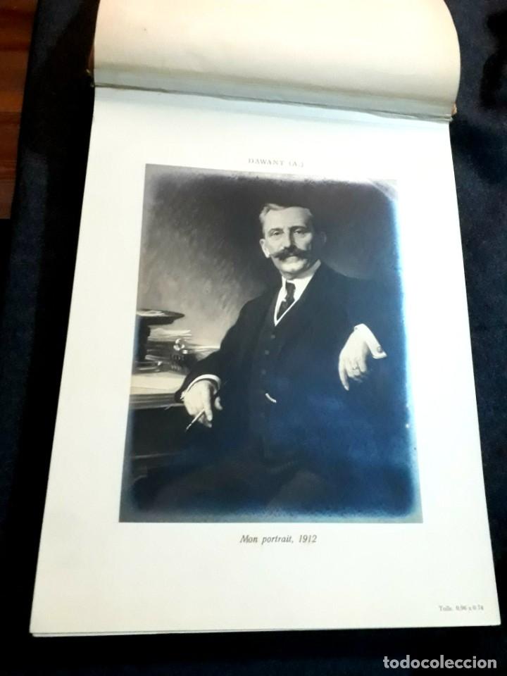 Libros antiguos: Collection Emile Lernoud 1924 gran álbum fotos originales Diaz del Peña Fader Corot Bonnat Steinlen - Foto 4 - 182041670