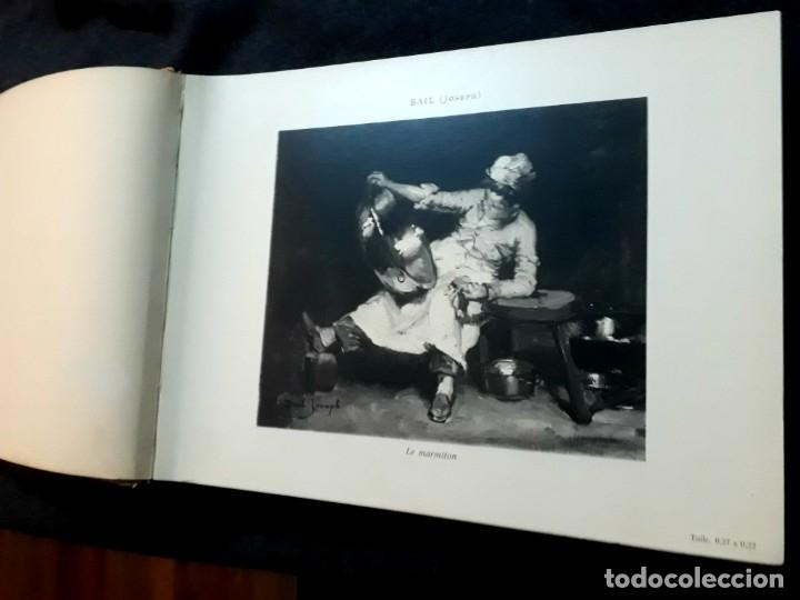 Libros antiguos: Collection Emile Lernoud 1924 gran álbum fotos originales Diaz del Peña Fader Corot Bonnat Steinlen - Foto 5 - 182041670