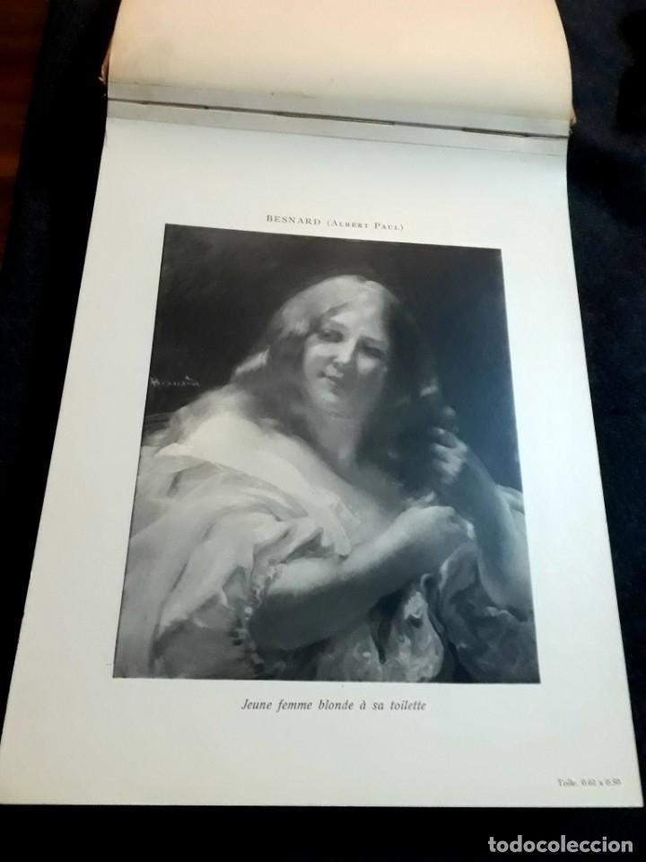 Libros antiguos: Collection Emile Lernoud 1924 gran álbum fotos originales Diaz del Peña Fader Corot Bonnat Steinlen - Foto 6 - 182041670