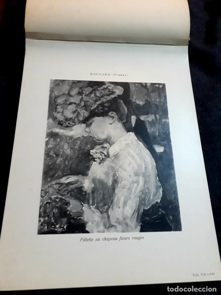 Libros antiguos: Collection Emile Lernoud 1924 gran álbum fotos originales Diaz del Peña Fader Corot Bonnat Steinlen - Foto 7 - 182041670