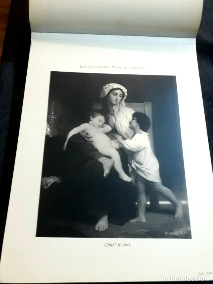 Libros antiguos: Collection Emile Lernoud 1924 gran álbum fotos originales Diaz del Peña Fader Corot Bonnat Steinlen - Foto 8 - 182041670