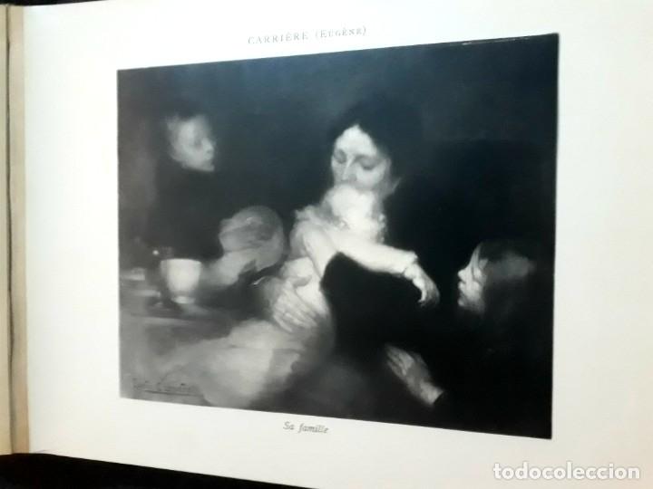 Libros antiguos: Collection Emile Lernoud 1924 gran álbum fotos originales Diaz del Peña Fader Corot Bonnat Steinlen - Foto 9 - 182041670