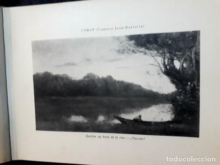 Libros antiguos: Collection Emile Lernoud 1924 gran álbum fotos originales Diaz del Peña Fader Corot Bonnat Steinlen - Foto 10 - 182041670
