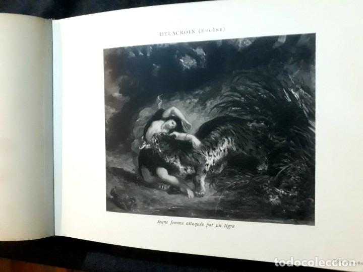 Libros antiguos: Collection Emile Lernoud 1924 gran álbum fotos originales Diaz del Peña Fader Corot Bonnat Steinlen - Foto 12 - 182041670
