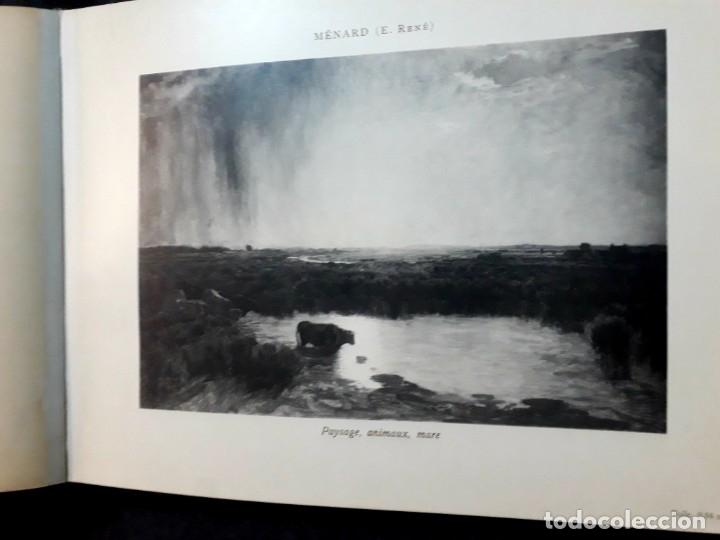 Libros antiguos: Collection Emile Lernoud 1924 gran álbum fotos originales Diaz del Peña Fader Corot Bonnat Steinlen - Foto 16 - 182041670