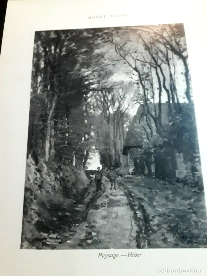 Libros antiguos: Collection Emile Lernoud 1924 gran álbum fotos originales Diaz del Peña Fader Corot Bonnat Steinlen - Foto 18 - 182041670