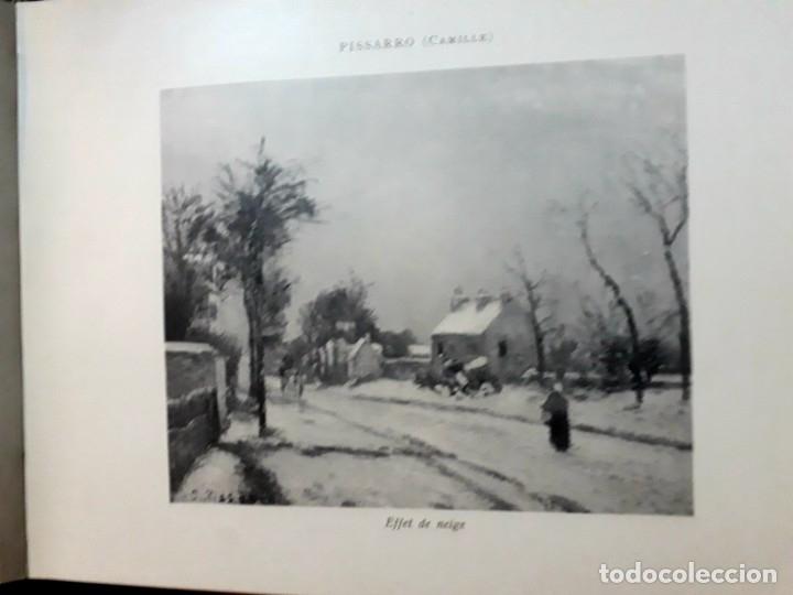 Libros antiguos: Collection Emile Lernoud 1924 gran álbum fotos originales Diaz del Peña Fader Corot Bonnat Steinlen - Foto 19 - 182041670