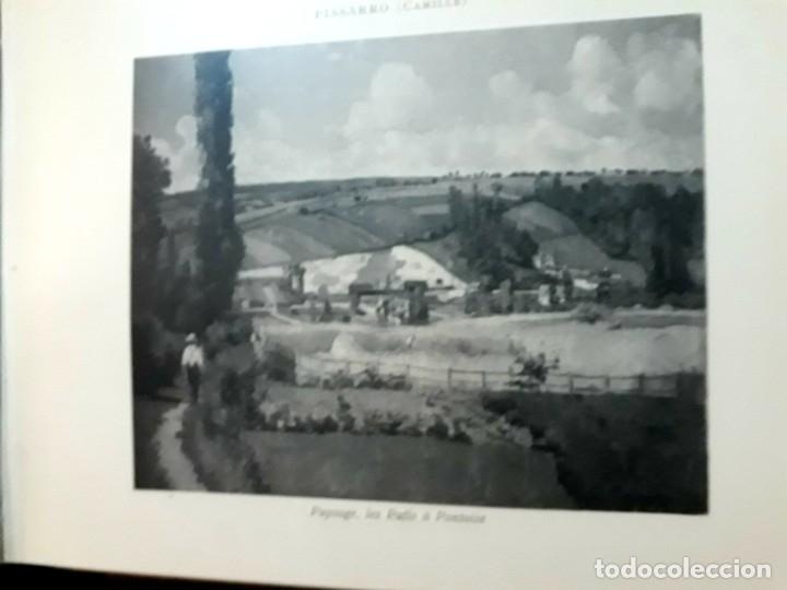 Libros antiguos: Collection Emile Lernoud 1924 gran álbum fotos originales Diaz del Peña Fader Corot Bonnat Steinlen - Foto 21 - 182041670