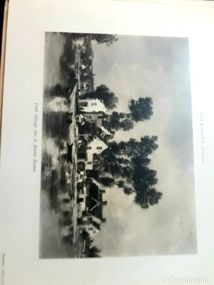 Libros antiguos: Collection Emile Lernoud 1924 gran álbum fotos originales Diaz del Peña Fader Corot Bonnat Steinlen - Foto 22 - 182041670