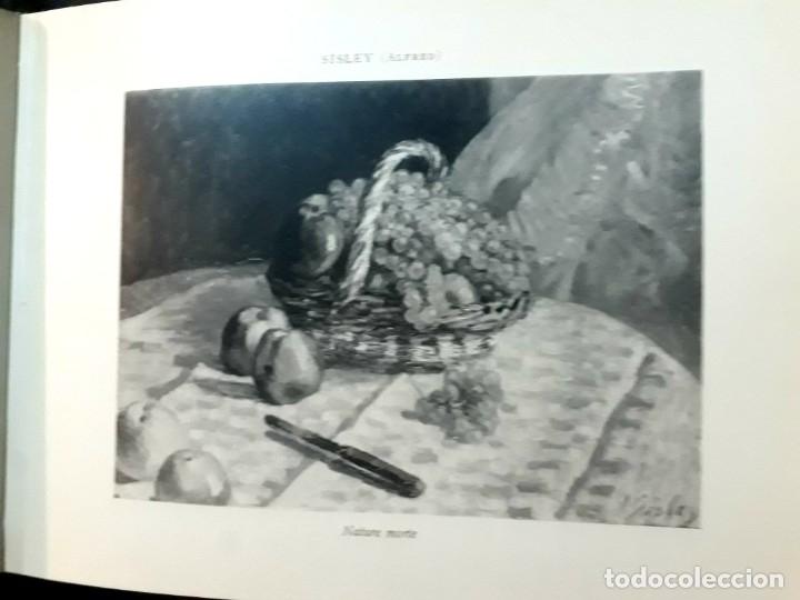 Libros antiguos: Collection Emile Lernoud 1924 gran álbum fotos originales Diaz del Peña Fader Corot Bonnat Steinlen - Foto 24 - 182041670