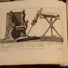 Libros antiguos: LORENZO ROCCHEGGIANI, LIBRO CON 54 GRABADOS DE1806. Lote 182962000