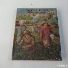 Libros antiguos: ENRIC C RICART Y EL NOVECENTISMO - ORIOL PI DE CABANYES - LUNWERG. Lote 183279931