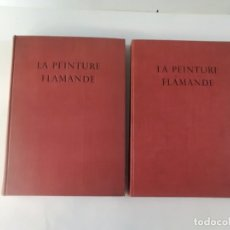 Libros antiguos: LA PEINTURE FLAMANDE - LE SIECLE DE VAN EYCK - (2 VOLS) - JACQUES LASSAIGNE - ALBERT SKIRA EDITEUR. Lote 183280505