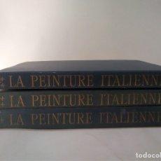 Libros antiguos: LA PEINTURE ITALIENNE - RENAISSANCE - 3 VOLS - L VENTURI R SKIRA-VENTURI - ALBERT SKYRA ED.. Lote 183281232