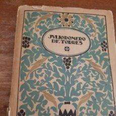 Libros antiguos: LIBRO DE JULIO ROMERO DE TORRES. Lote 183386962