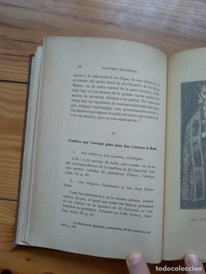 Libros antiguos: Zarco Cuevas, Julián - Pintores Españoles e Italianos en San Lorenzo el Real de El Escorial - Foto 10 - 184595195