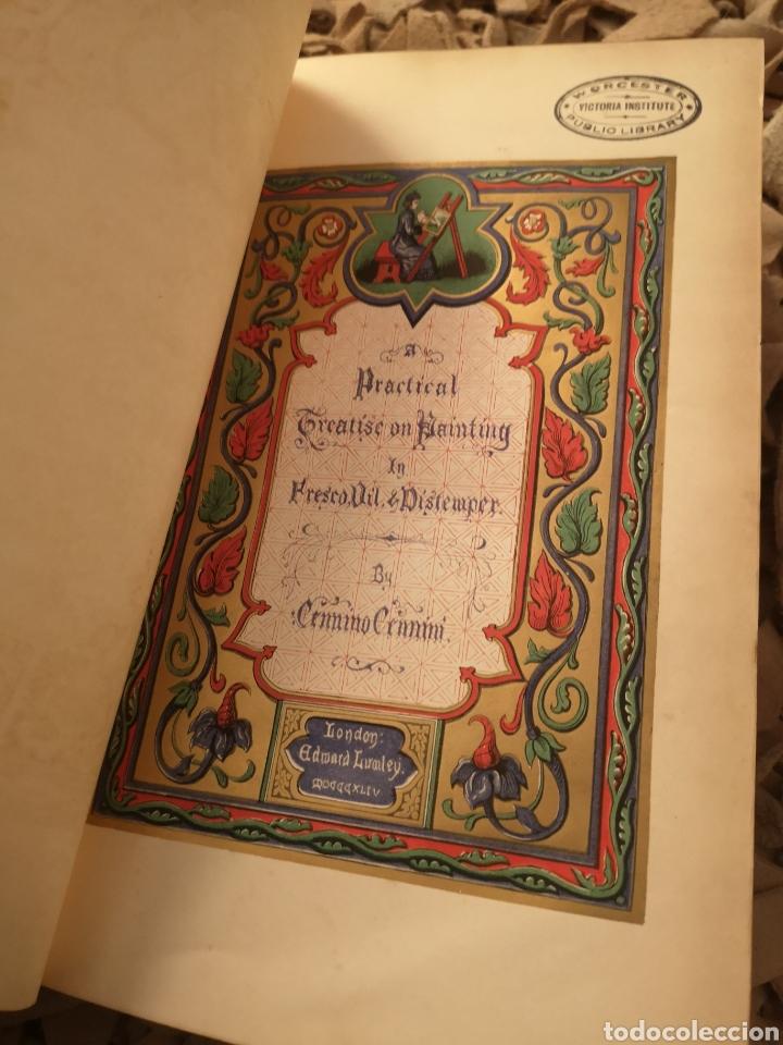Libros antiguos: A Treatise on Painting by Cennino Cennini Mrs Merrifield Editorial:Edward Lumley, 1844 - Foto 2 - 184860283