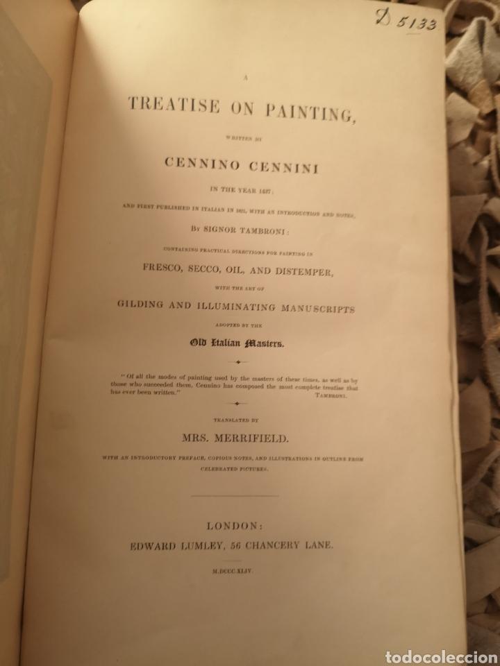 Libros antiguos: A Treatise on Painting by Cennino Cennini Mrs Merrifield Editorial:Edward Lumley, 1844 - Foto 3 - 184860283