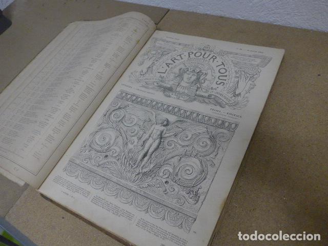 ANTIGUO GRAN LIBRO L'ART POUR TOUS, 1864, DE ARTE, FRANCIA. ORIGINAL (Libros Antiguos, Raros y Curiosos - Bellas artes, ocio y coleccion - Pintura)