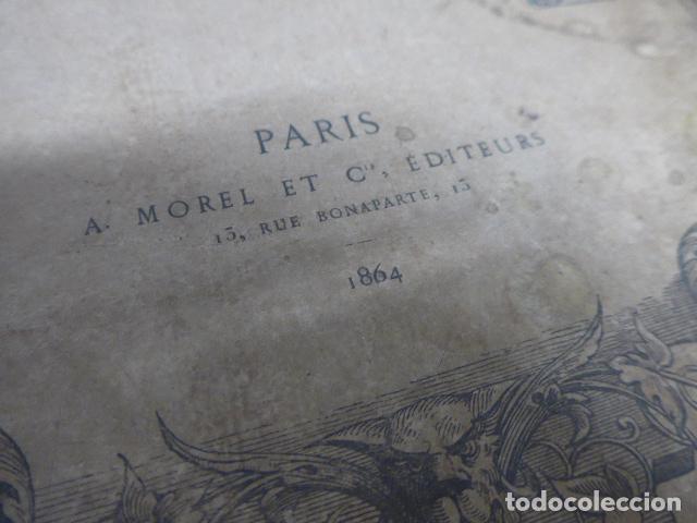 Libros antiguos: Antiguo gran libro lart pour tous, 1864, de arte, Francia. Original - Foto 11 - 186012636