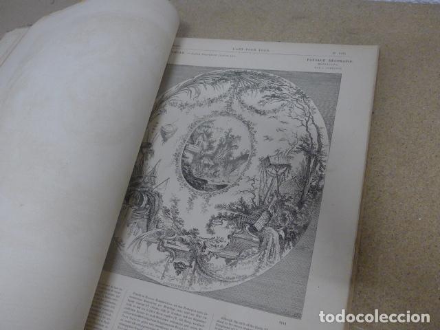 Libros antiguos: Antiguo gran libro lart pour tous, 1864, de arte, Francia. Original - Foto 18 - 186012636