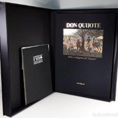 Libros antiguos: DON QUIJOTE. IDEAS E IMÁGENES DEL QUIJOTE. EJEM. Nº 242/975. EDIT. ARTE. MADRID. 2004.. Lote 188487337