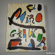 Libros antiguos: LIBRO MIRÓ GRABADOR TOMO I 1928-1960 JACQUES DUPIN EDICIONES POLÍGRAFA 1987. Lote 188800955