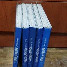 Libros antiguos: 59 FASCICULOS EN 5 TOMOS CURSO PRACTICO DIBUJO Y PINTURA LAROUSSE 1996. Lote 189566230