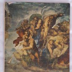Libros antiguos: HERMOSO LIBRO DE LA CAPILLA SISTINA, CAPPELLA SISTINA DEL INSTITUTO GEOGRAFICO DE AGOSTINI, NOVARA. Lote 189985100