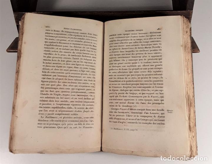 Libros antiguos: HISTOIRE DE LA PEINTURE EN ITALIE. 4 TOMOS. EDIT. H. SEGUIN. PARÍS. 1824. - Foto 5 - 190229423