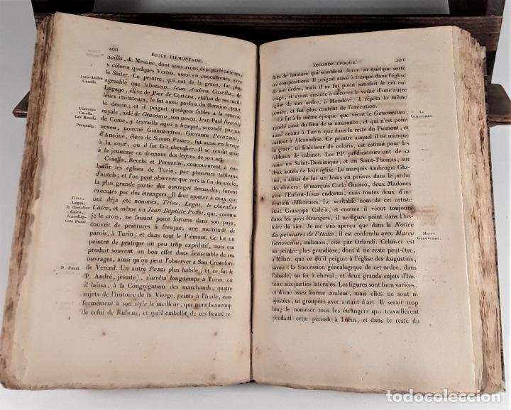 Libros antiguos: HISTOIRE DE LA PEINTURE EN ITALIE. 4 TOMOS. EDIT. H. SEGUIN. PARÍS. 1824. - Foto 8 - 190229423