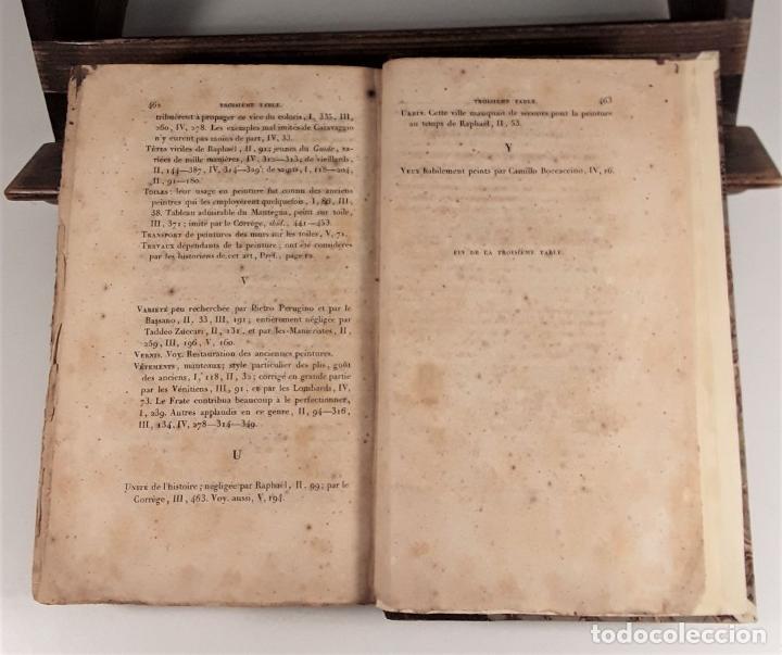 Libros antiguos: HISTOIRE DE LA PEINTURE EN ITALIE. 4 TOMOS. EDIT. H. SEGUIN. PARÍS. 1824. - Foto 9 - 190229423